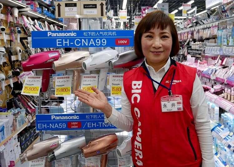 日本電器及3C電子怎麼買?BicCamera人氣台灣家電專員教你挑【附超值優惠券】