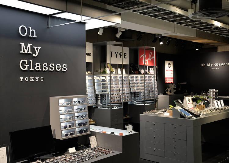 高品質な日本産ブランドも充実!『Oh My Glasses TOKYO 渋谷ロフト店』