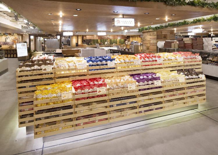 日本の揚げ菓子を現代風にアレンジ!|あおざしからり/ルミネ新宿店