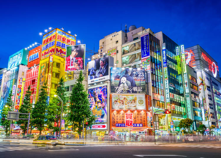 10 Surprising and cool things you didn\'t know about Akihabara - LIVE ...