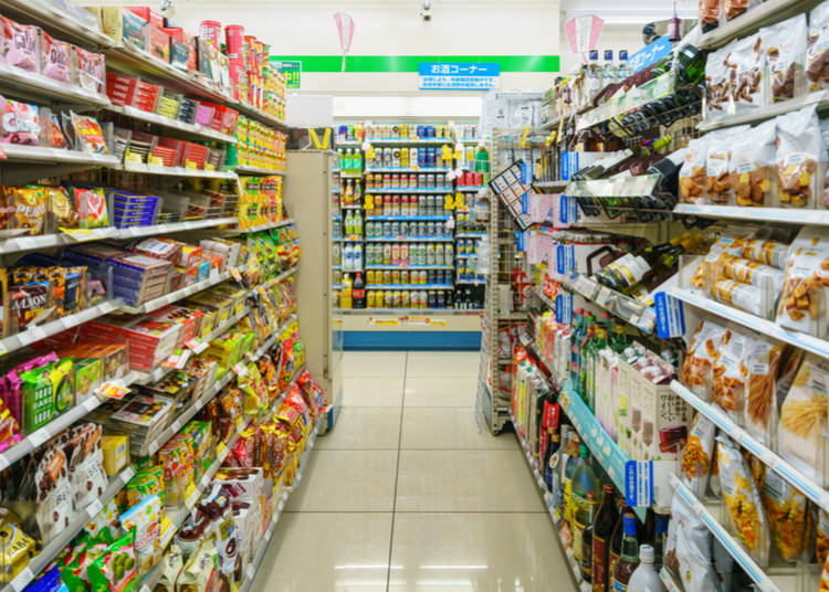 6. Convenience stores really are...convenient!