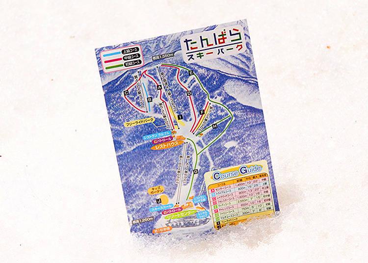 The Piste Map, a Skiers Best Friend