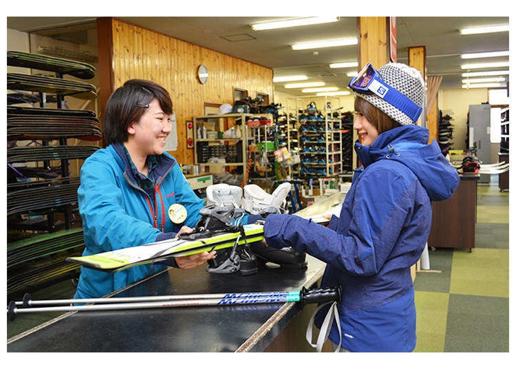 Doing Ski & Snowboard Rentals in Japan