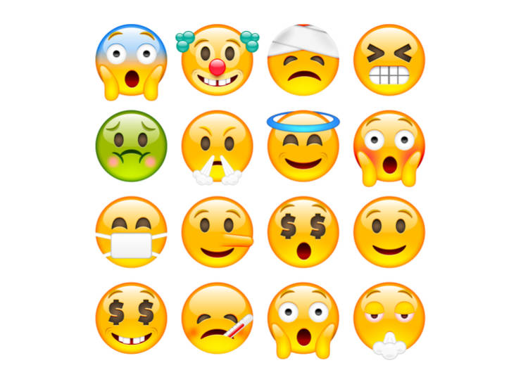 Japanese Emoji and Emoticons