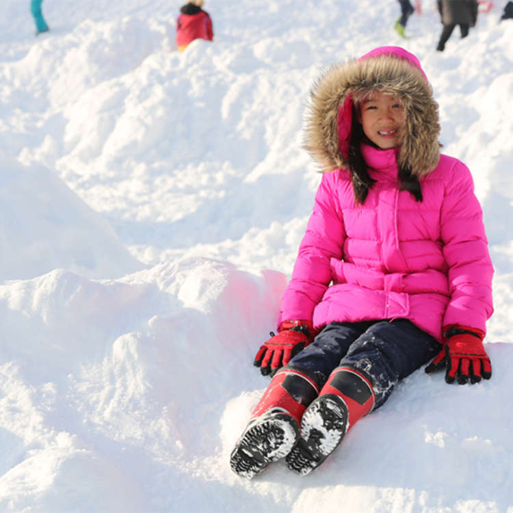 Skiing in Japan for and with Kids