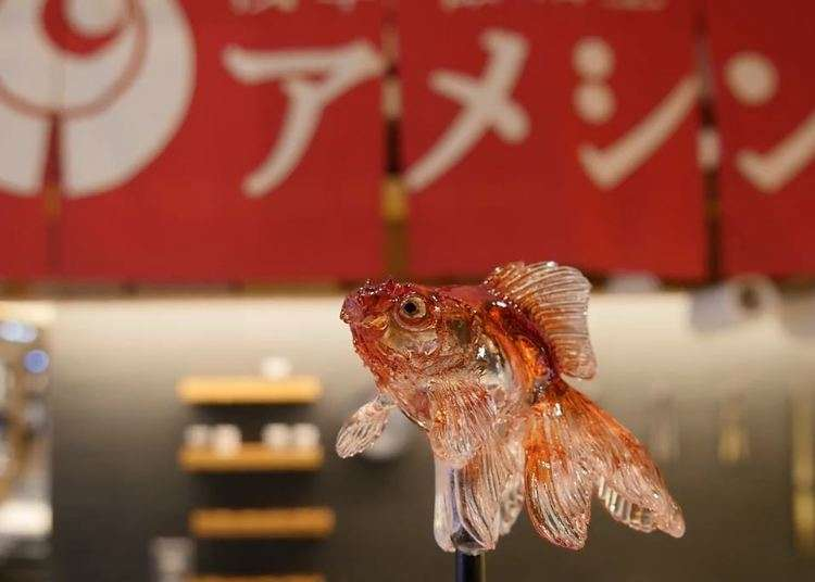 [MOVIE] Amazing Edible Sculptures from Ameshin!