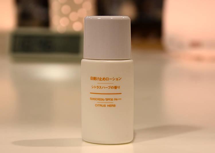 Citrus Herb Sunscreen