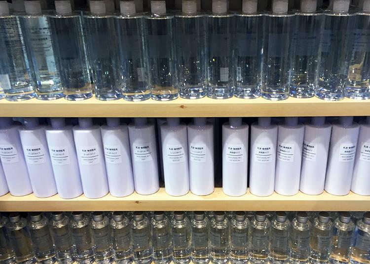 柔嫩潤澤、清爽的化妝水與保濕乳液
