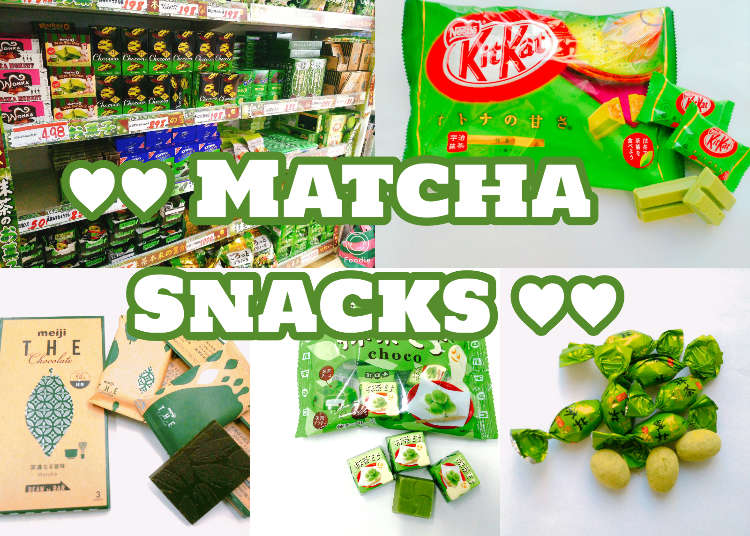 10 Must-Try Matcha Snacks at Don Quijote