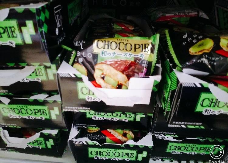 """Chocopie """"Wa"""" Cheesecake"""