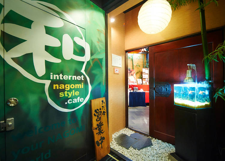 【秋葉原】地下に広がる京都の街!和風ネットカフェ「和 style.cafe AKIBA」