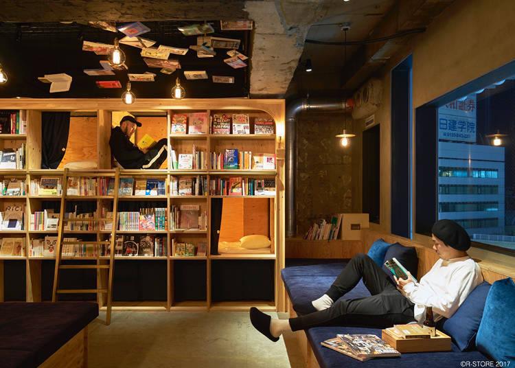 [신주쿠] BOOK AND BED TOKYO 신주쿠점 ~ 책에 파뭍힐 수 있는 곳 ~
