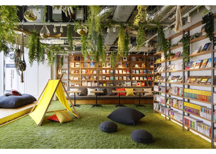 【新宿】享受豪華露營氛圍,坐落於市中心的「TSUTAYA BOOK APARTMENT」