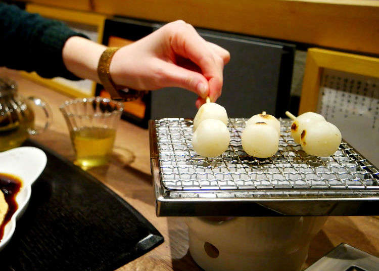 Experience the Tokyo Dessert Heaven with Grilled Sweet Dumplings and Water Cake at Mikan Club!