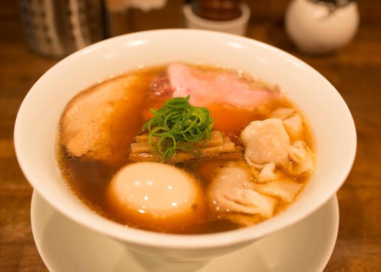 Nakiryu: Creative, Michelin-starred Ramen Take You to Noodle Soup Heaven