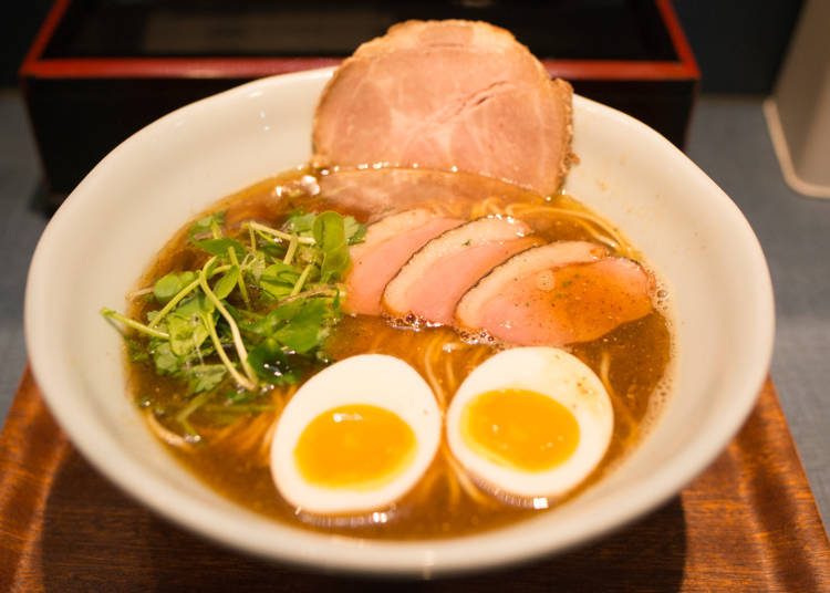 Ushio: Try Next-Generation Soy Sauce Ramen, a Fusion Between Modern and Traditional