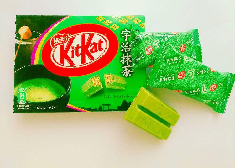 8. KitKat Uji Matcha KitKat