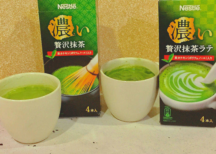 Nestle Rich Matcha and Nestle Rich Matcha Latte