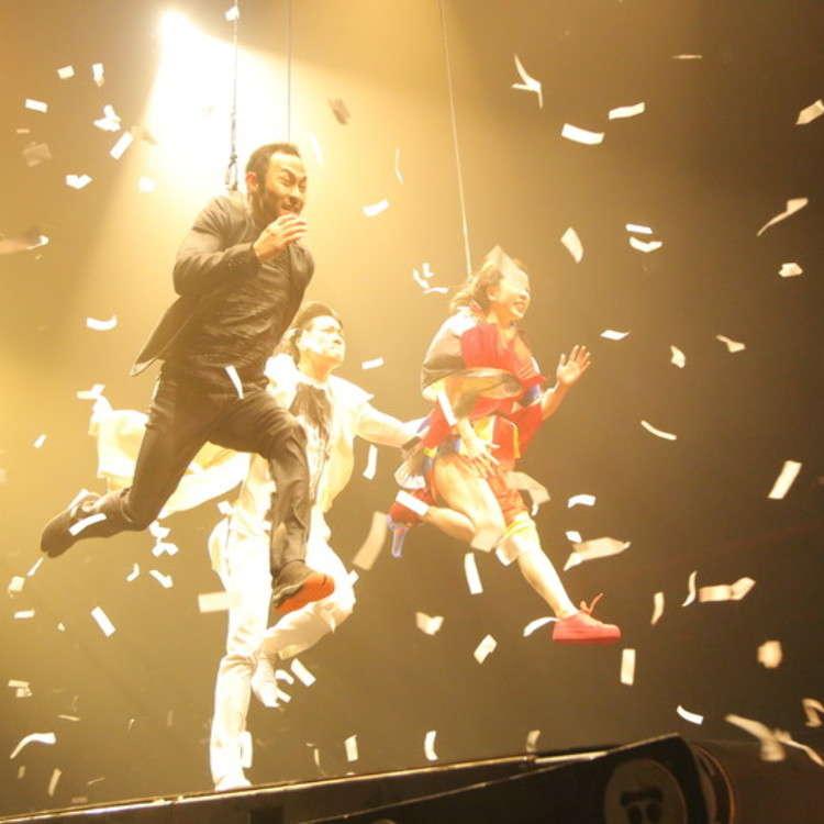世界で500万人以上を動員した「フエルサブルータ」の最新作「WA!!」を東京で体験する!