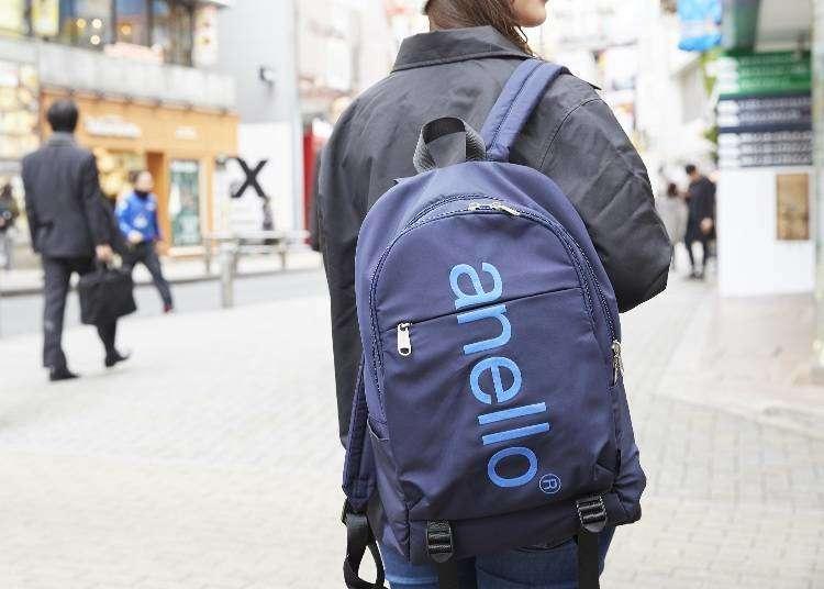 일본가방쇼핑 - 일본에서 유행중인 인기가방 브랜드 아넬로(anello)! 그 인기비결은?