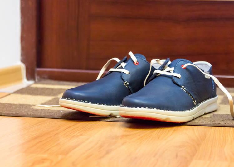 玄関で靴を揃えて脱ぐ習慣に驚いた!