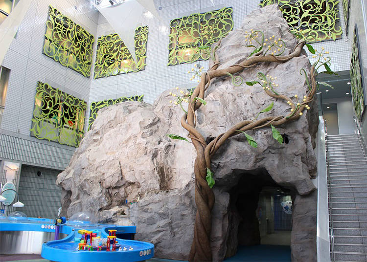 The Aqua Park: Playing and Discovering