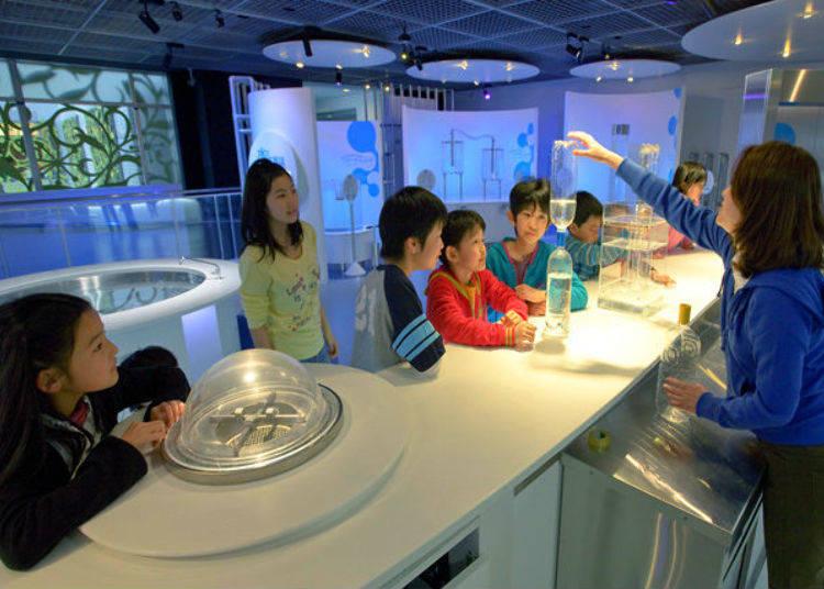 The Aqua Laboratory: Water Meets Science