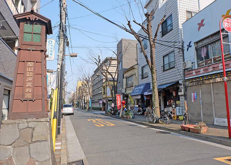 东京的老街(下町) 有哪些区域?