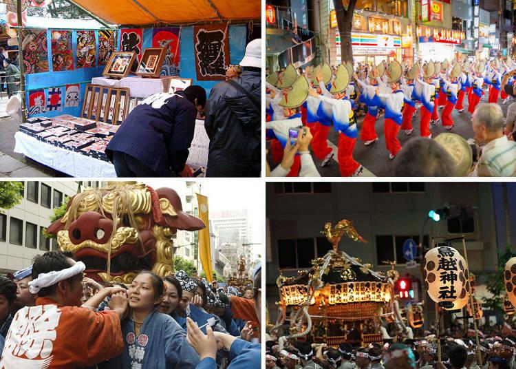 理由十 : 洋溢着欢乐氛围的祭典、老街市集