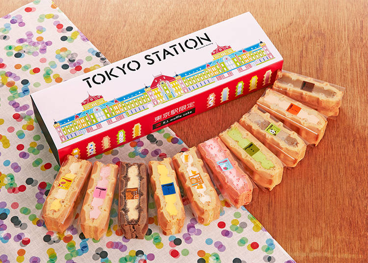 #3 10-Waffle Package Only Available in Tokyo Station