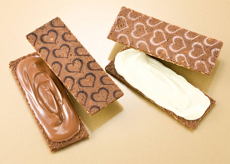 "#2 Gin-no-Budou's Chocolate Sandwich, ""Almond"""
