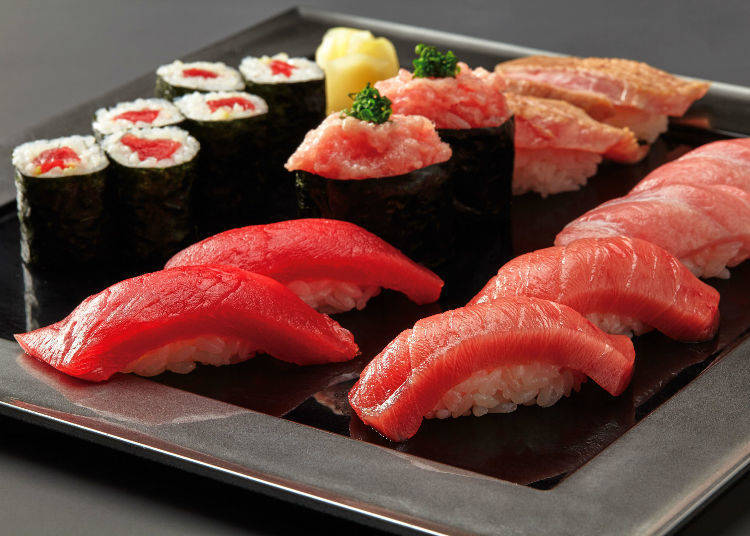 Recommended Dishes #5 - Quality Natural Bluefin Tuna Set (3,780 JPY)