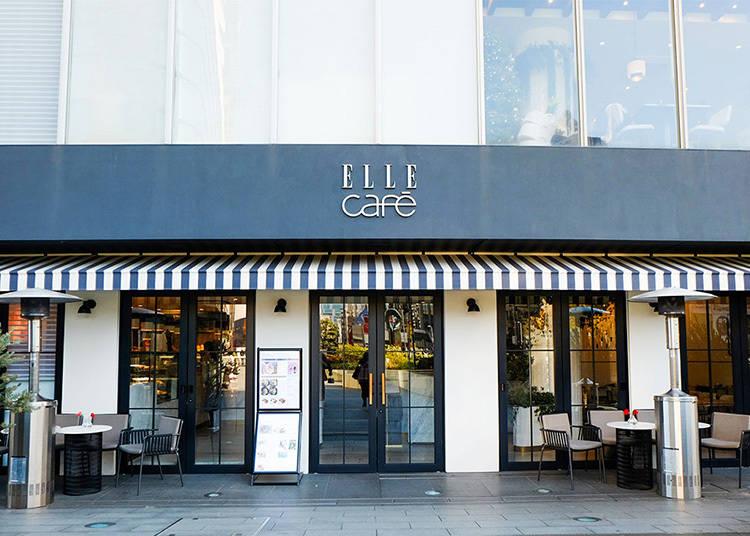 【1】時尚雜誌品牌咖啡廳「ELLE Café」時尚度、話題度、美味check in!