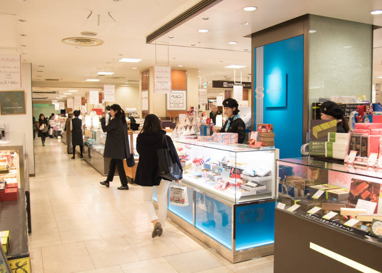 You'll Find Plenty Of Shops On The Basement Level Of Nihombashi Takashimaya