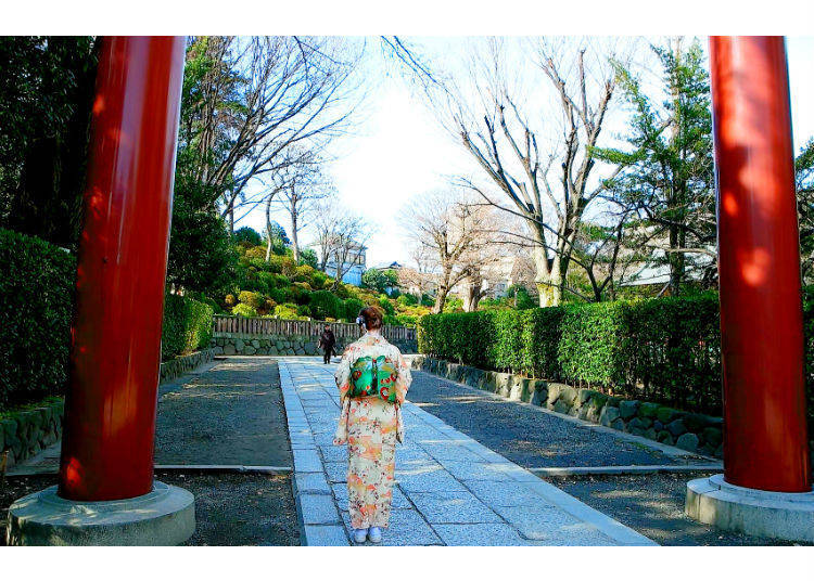Passing the Torii: Bow Once and Taking the First Step with Your Left Foot