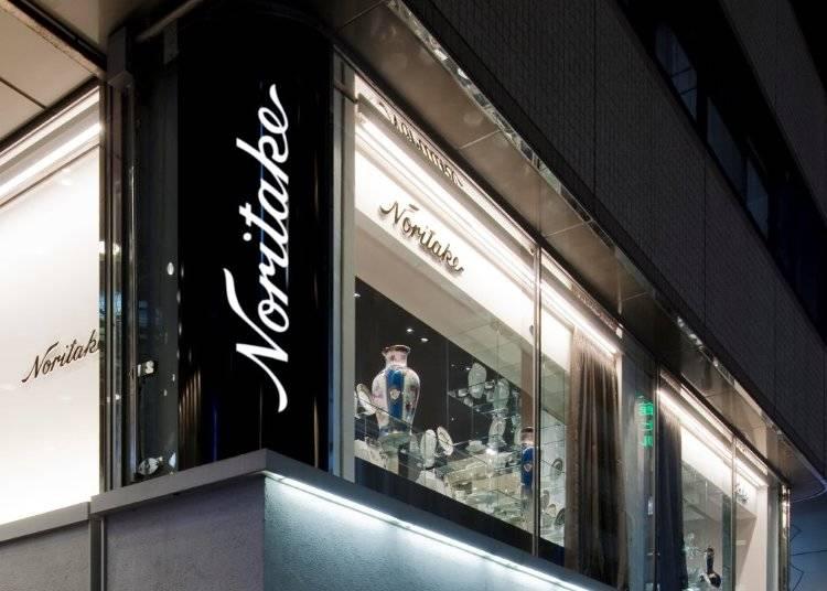 美しい磁器に卓越した絵師たちの装飾が人々を魅了!/ノリタケ・大倉陶園 銀座店