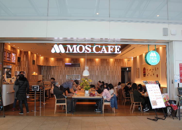 ★咖啡廳、茶館推薦★  24小時營業的熟悉純樸滋味「MOS CAFE 羽田機場國際航廈店」