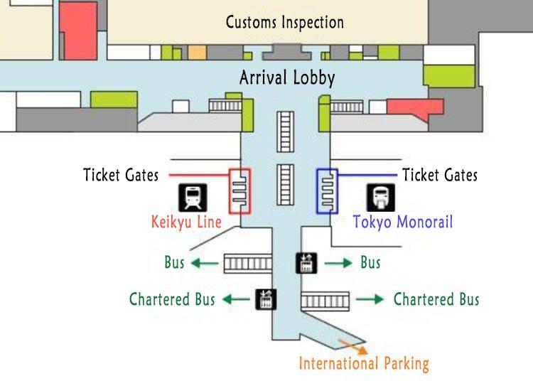Haneda Airport 2nd Floor Arrivals Lobby