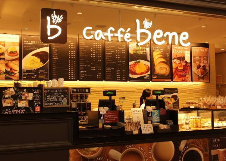 韓國人氣咖啡廳日本也吃得到「caffe bene」