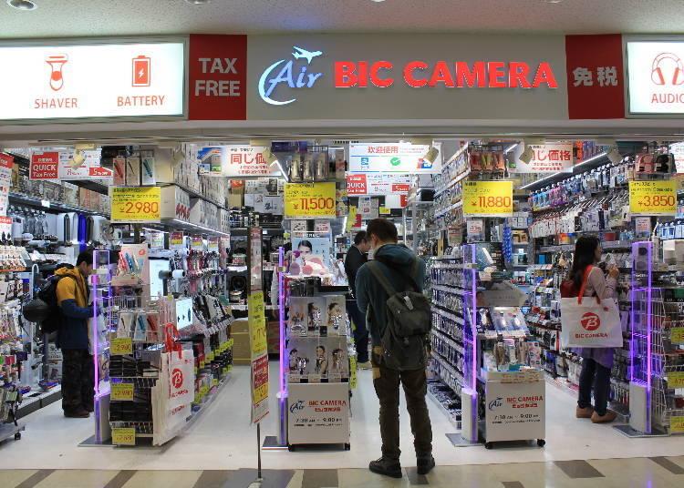 Air Bic Camera – Terminal 2, 4F