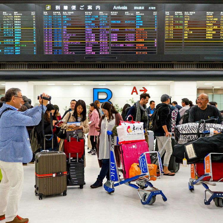 東京之旅就從這裡開始!成田機場抵達大廳完整情報懶人包