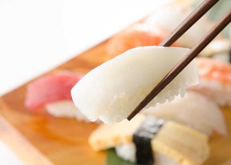 ポイントは食感にあった!外国人の嫌いな回転寿司のNo.2は「いか」