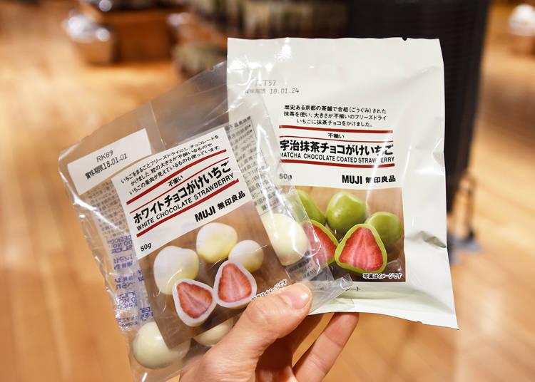 3. Chocolate Covered Strawberries - White and Matcha