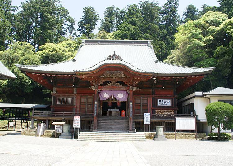 5) Seicho-ji: Experiencing One of Japan's Most Beautiful Sunrises (Kamogawa City, Chiba)