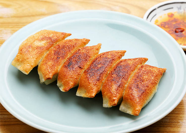 4) Gyoza No Osama in Asakusa: Crunchy, Local, and Absolutely Charming!