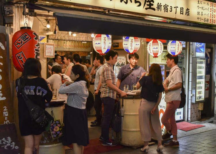 Guide to Japanese Bars: From Tachinomi to Yokocho