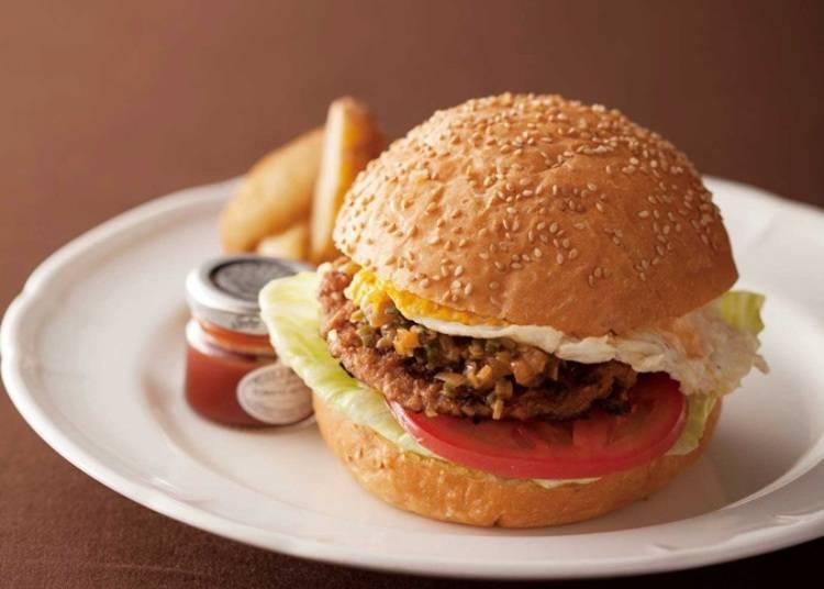 在舒坦的空間品嚐美味極品漢堡/café rejiig(伊勢丹新宿店・男性館8樓)