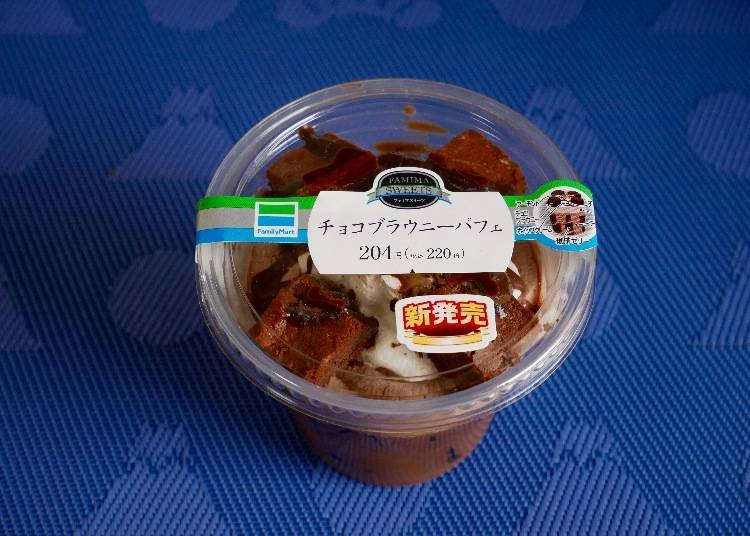 Family Mart: Chocolate Brownie Parfait