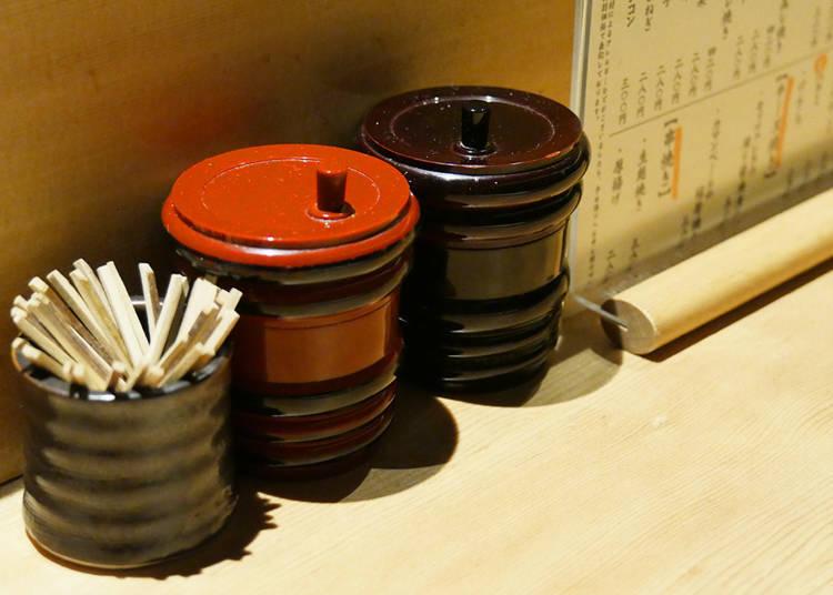 Yakitori – Relish and Condiments