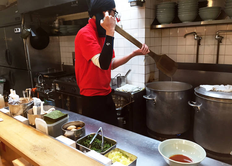 Wait for Your Freshly Made Bowl of Ramen